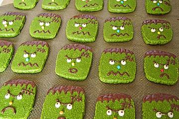 Frankenstein-Cookies