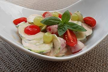 Fitness-Salat mit Hähnchen