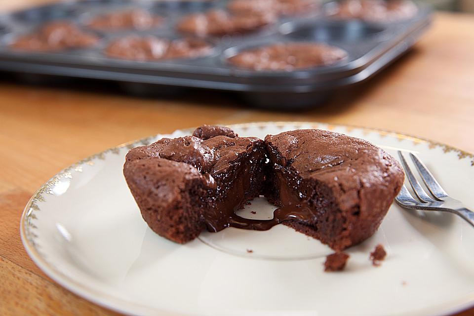 Kuchen Mit Flussigem Kern Rezepte Chefkoch De
