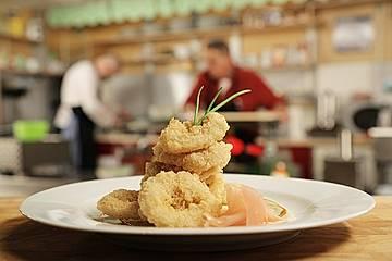 Japanische Calamari