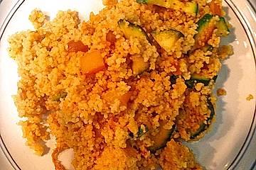 Curry-Couscouspfanne mit Gemüse