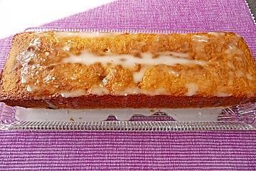 Limetten-Cranberry-Kuchen