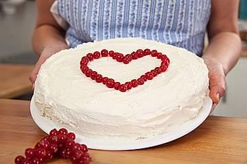 Torte aus Tortencreme