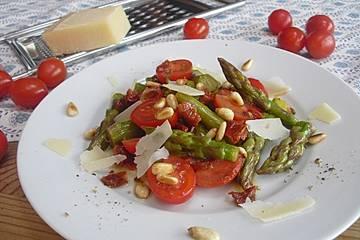 Spargelsalat italienische Art