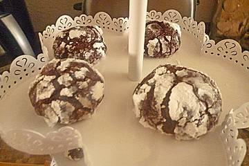 Schokoladen-Schneebälle