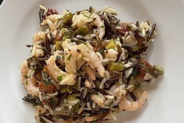 Wildreis - Crevetten Salat