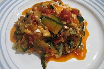 Zucchini-Nudeln Low Carb