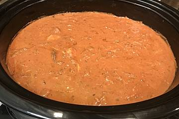 Rahmgulasch aus dem Crock Pot / Slow Cooker