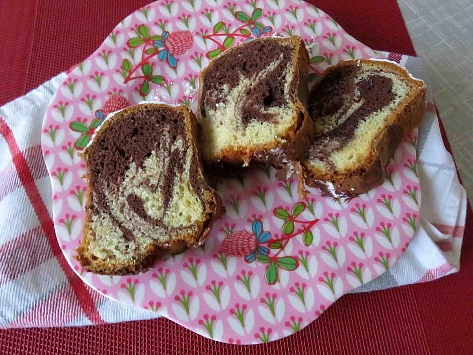 Sahne marmorkuchen butter mit statt Rezept für