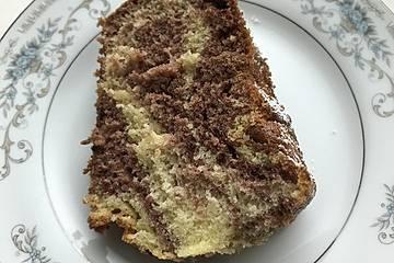 Marmorkuchen mit sahne statt butter