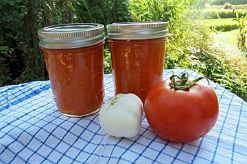 Tomatensauce aus ofengerösteten Tomaten