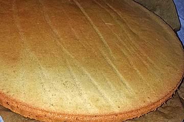 Lowcarb Kuchenboden mit Beerengeschmack