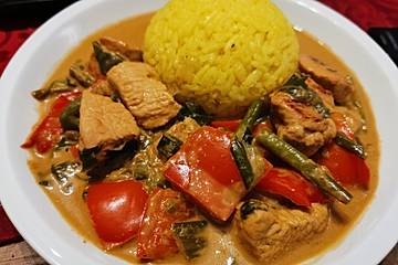 Low Carb Hähnchencurry