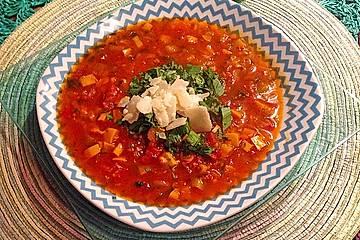 Zucchini-Kräuter-Suppe
