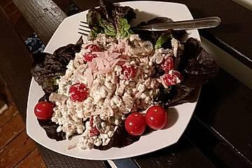 Protein-Abendessen mit Hüttenkäse