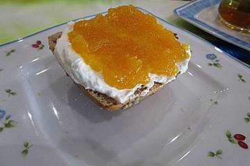 Ananas-Nektarinen-Marmelade mit Rum