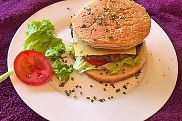Veganer Cheeseburger