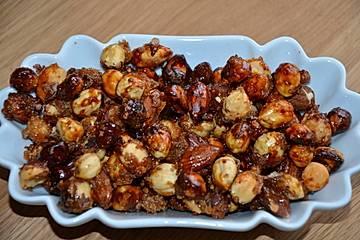 Chrisels gebrannte Nüsse mit nur drei Zutaten
