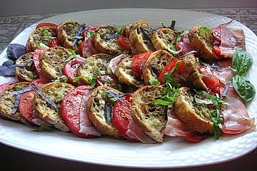 Italienischer Tomaten-Brotsalat