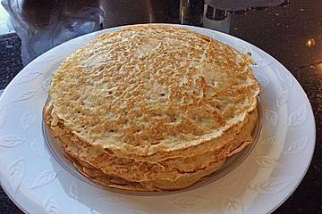 Bliny - Pfannkuchen mit Kefir