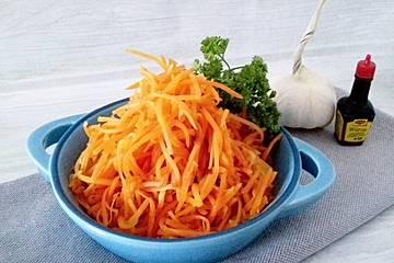 Karottensalat nach russischer Art