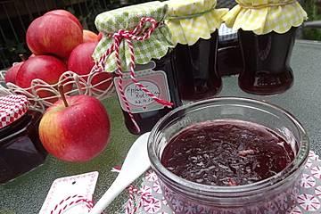 Apfel-Rotwein-Marmelade