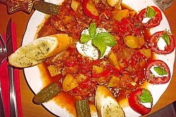 Welches Gemüse Zu Gulasch