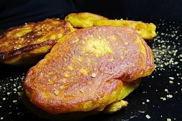 Kürbis-Pfannkuchen