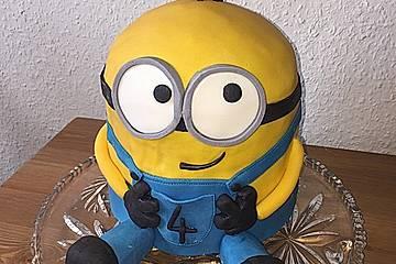 3d Minion Torte
