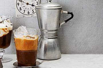 Frappé - griechischer Eiskaffee
