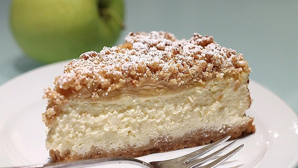 Apple-Crumble-Cheesecake von JulieK4   Chefkoch