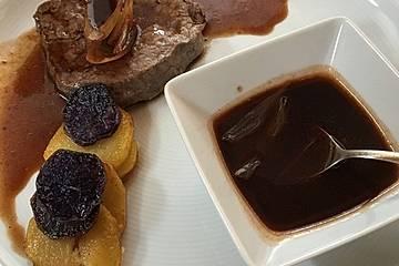 Rinderfilet mit Schalotten-Balsamico-Sauce