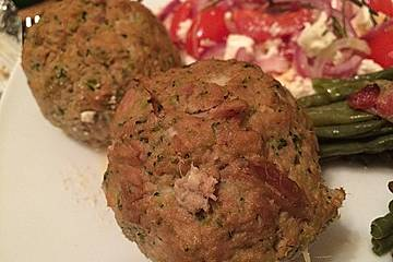 Thunfischfrikadellen low carb