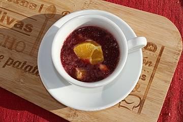 Granatapfel-Chia-Pudding mit Orange