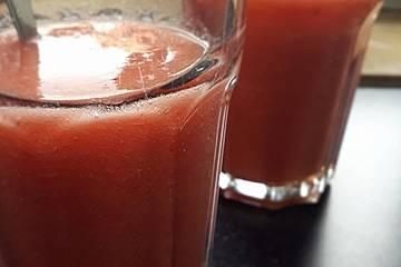 Erdbeer-Ananas-Smoothie