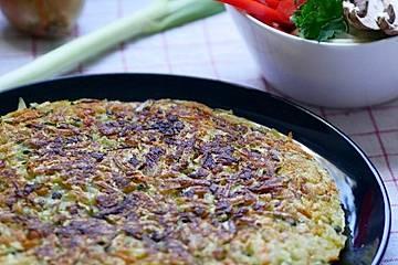 Möhren-Zucchini-Rösti