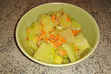 Smokeys Kohlrabi-Rosenkohl-Salat