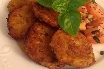 Vegane Kartoffel-Zucchini-Puffer
