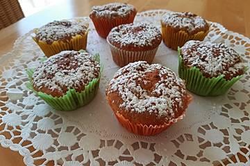 Vegane Himbeer-Vanille-Muffins