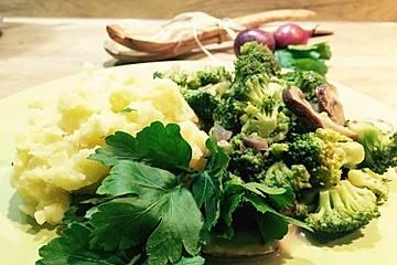 Champignon-Brokkoli-Pfanne