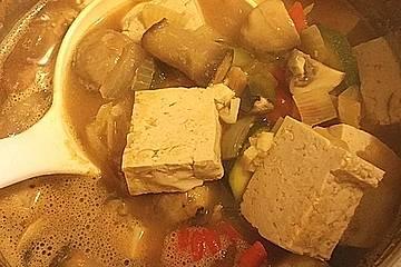 Koreanische Sojabohnensuppe