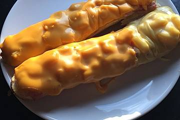 Freds fruchtiges Hawaii-Baguette mit Orangensoße