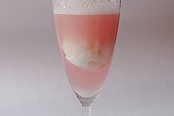 Holunderblütensorbet mit Limette