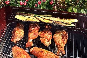 Barbecue Truthahnflügel