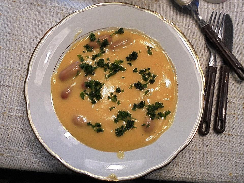einfache sämige kartoffelsuppe mit weißweinnote à la didi