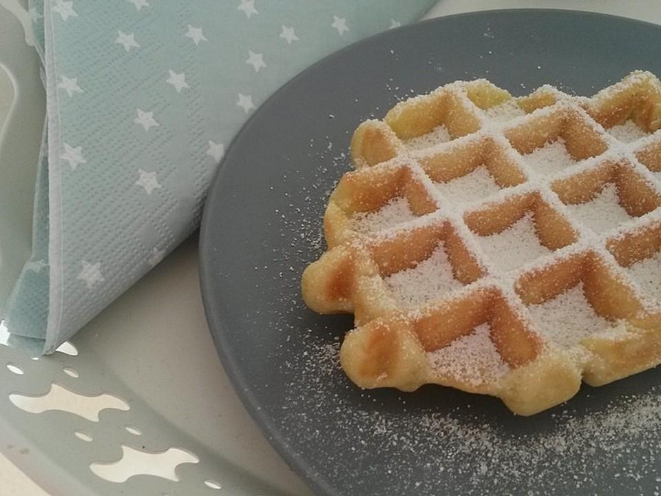 Belgischer waffelteig