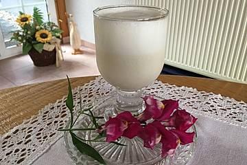 Milchshake mit Vanillezucker