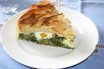 Torta Pasqualina - Ligurische Ostertorte