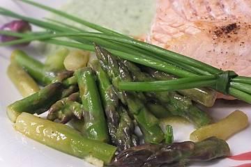 Salat vom Grünen Spargel