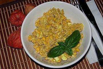 Thunfisch-Reissalat mit Curry